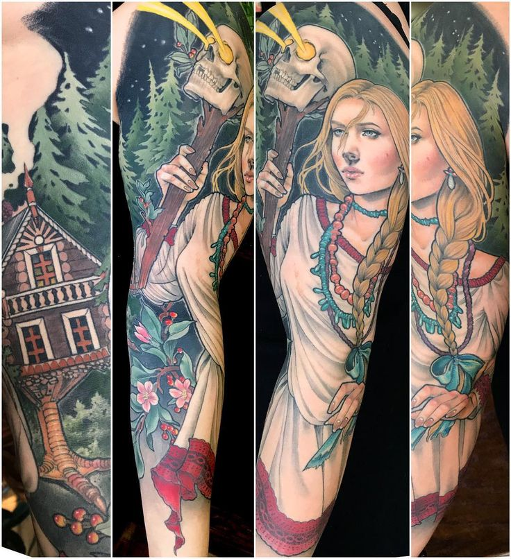 2,374 отметок «Нравится», 36 комментариев — Samantha Smith (@scragpie) в Instagram: «Eve came in to let me take some healed photos of her Visilisa the Beautiful sleeve! I had posted a…»