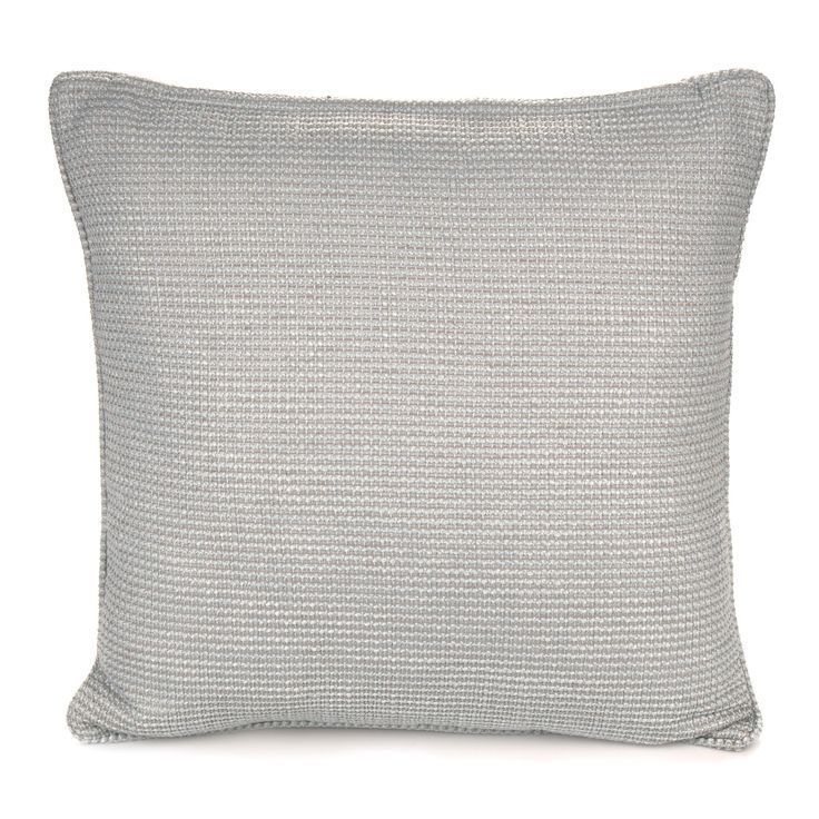 Carina Woven Duck Egg Cushion | Departments | DIY at B&Q