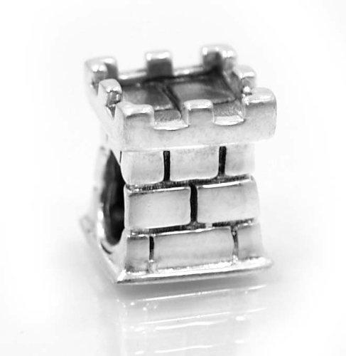 ".925 Sterling Silver "" Castle Tower "" Charm Bead Compatible with Pandora Chamilia Kay Troll Bracelet Pro Jewelry, http://www.amazon.com/dp/B008E7JVZQ/ref=cm_sw_r_pi_dp_Q1t6qb102GZ9M"