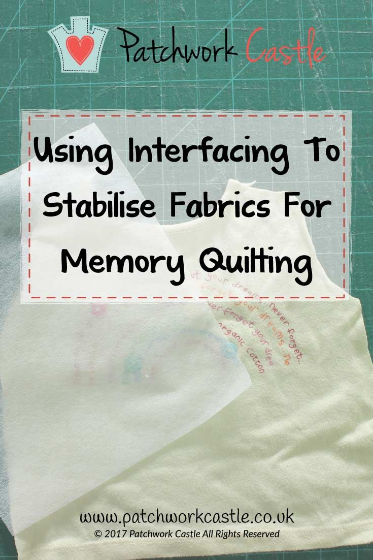 Your Questions Using Interfacing To Stabilise Fabrics In