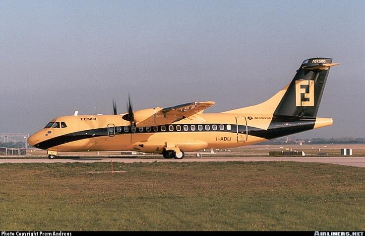 ATR42 I-ADLI #Fendi