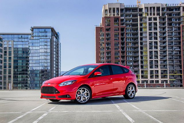 Check out this pretty red #Ford #Focus at #CapitolFord. #DGDG #SanJose #BeHappy
