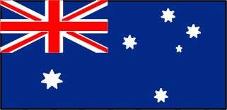 Australian flag - click through for australian flag activity on dltk-kids.com