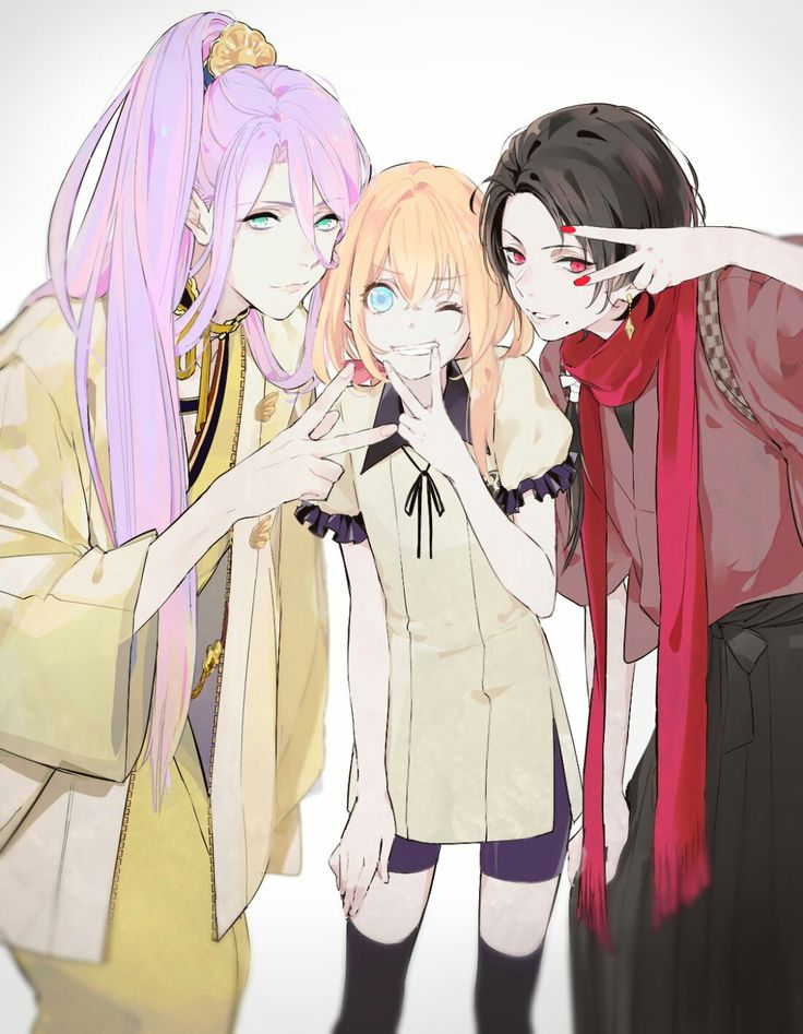 We are not girls! >> Touken Ranbu   刀剣乱舞   characters   人物