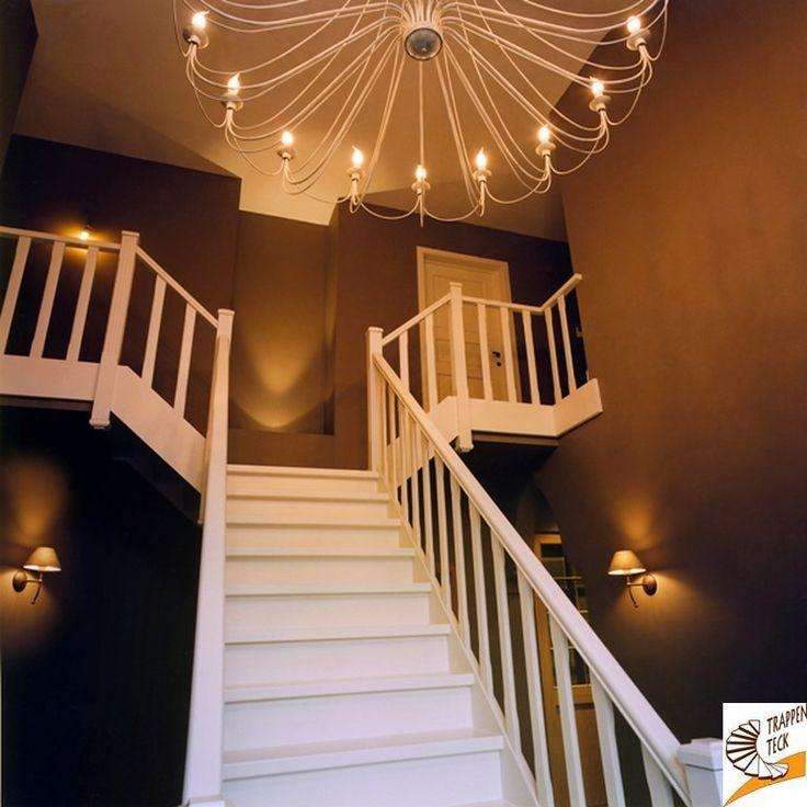 Landelijke trap trappen teck puurs landelijke trappen pinterest - Model interieur trap ...