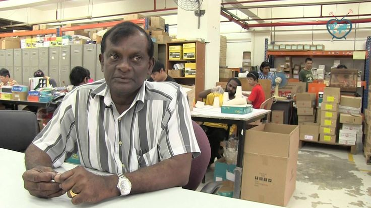 Working with disabled people: Bizlink from Singapore, BonVoyage E.43