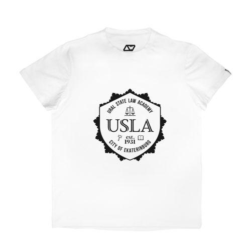 Футболка Ural State Law Academy (Уральская государственная юридическая академия / УрГЮА / USLA ).