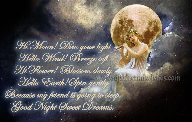 inspirational goodnight | good night sweet dreams 3 Cute Good Night Messages, Sweet sleep, Sweet ...