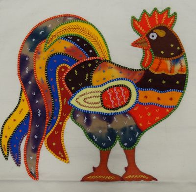 embroidery from Sri Lanka
