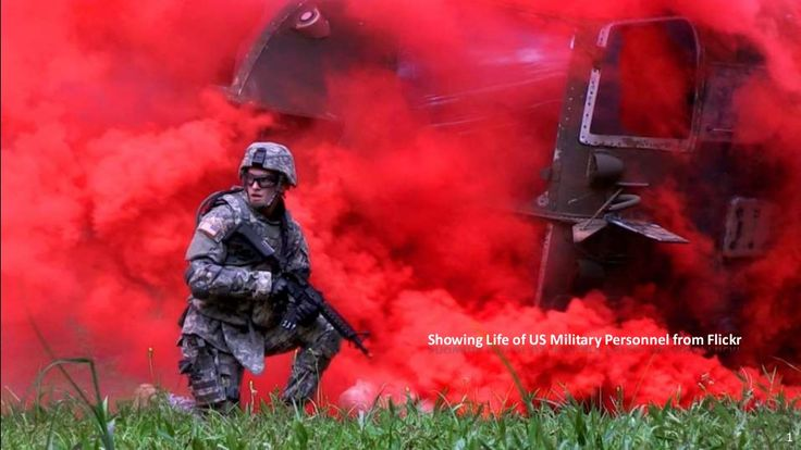Showing Life of US Military Personnel from Flickr by 文堯 王 via slideshare