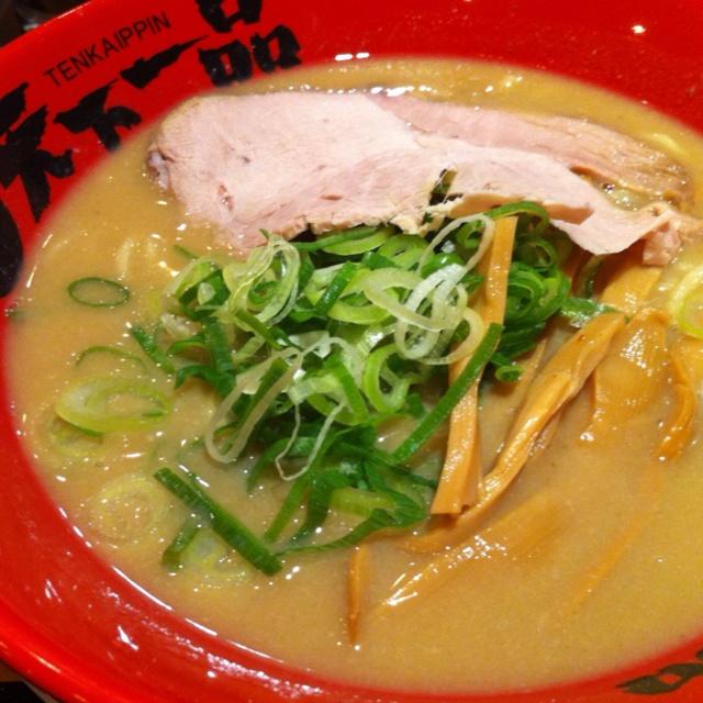 天下一品! #ramen Pork Broth Ramen Noodle Soup