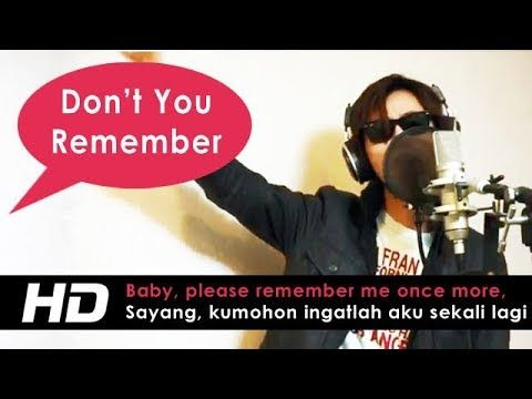 Don't You Remember - Adele (Ajie Roxuai Cover) Lyrics Terjemahan