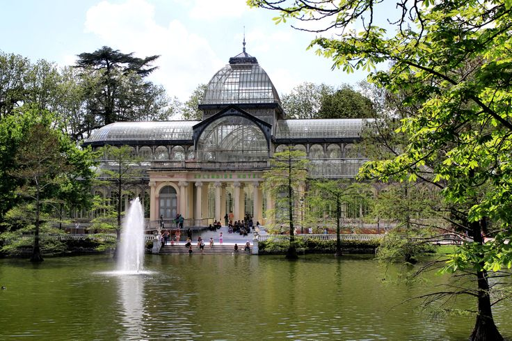 The Crystal Palace in Parc del Retiro (Madrid)