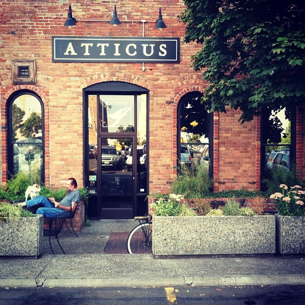 Atticus Coffee - my fav coffee house in Spokane