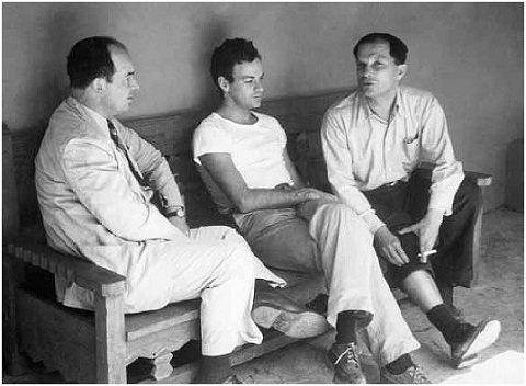 John von Neumann, Richard Feynman, Stanislaw Ulam