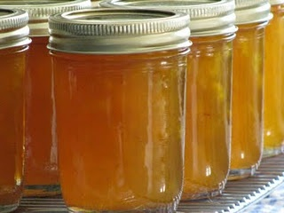 Peach Jam – recipe originally from Blue Ribbon Recipes. It is sooo good!!! – Tri…
