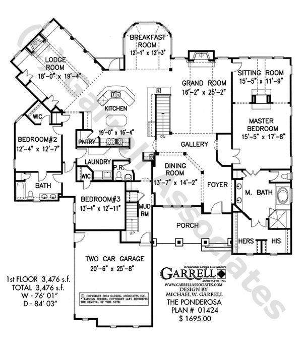 212 best ranch ideas for builder images on pinterest dream house New England Ranch Style House Plans ponderosa house plan floor plan, mountain style house plans, ranch style house plans love the master bed and bath* new england ranch style house plans