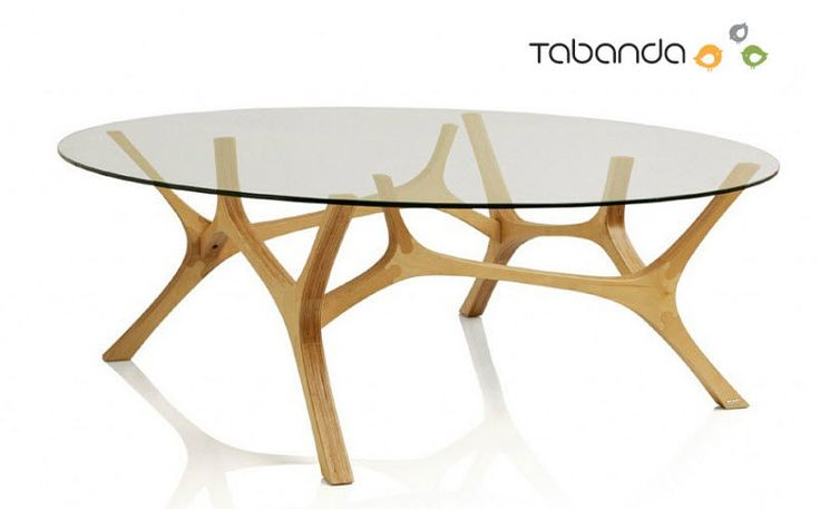 75 best mobilier images on pinterest - Tables basses rondes en bois ...
