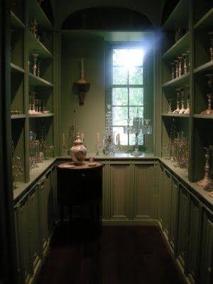 Winterthur, butler's pantry.