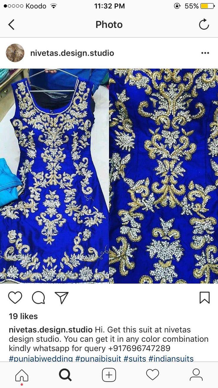 Nivetas Design Studio We ship worldwide 🌎 Made to measure Inquiries➡️ nivetasfashion@gmail.com whatsapp +917696747289 high end designer outfits   punjabi suits, suits, patiala salwar, salwar suit, punjabi suit, boutique suits, suits in india, punjabi suits, beautifull salwar suit, party wear salwar suit delivery world wide follow : @Nivetas Design Studio