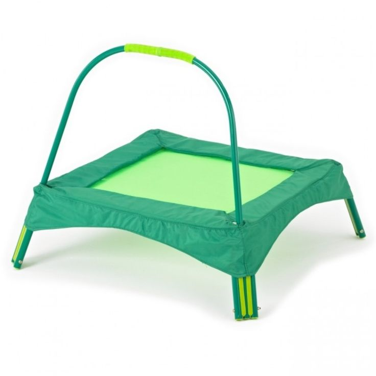 Early Fun Trampoline - Toddler Trampoline - Green - TP Toys - Mookie