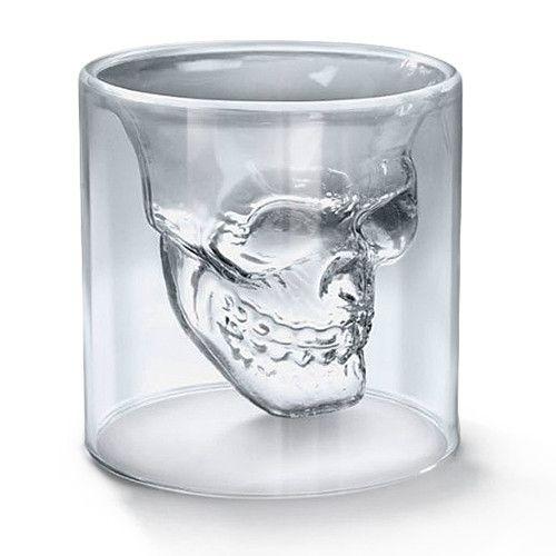 Skull Crystal Glass