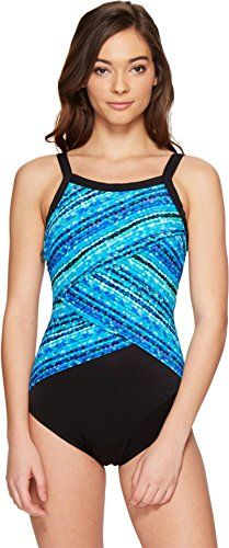 Miraclesuit Swimwear Size Guide From the cabana scene to the spa set bring stunning chic to the swim scene with the curve-loving Night Lights Color Block High Neck One-Piece. Miratex fabric: Exc...