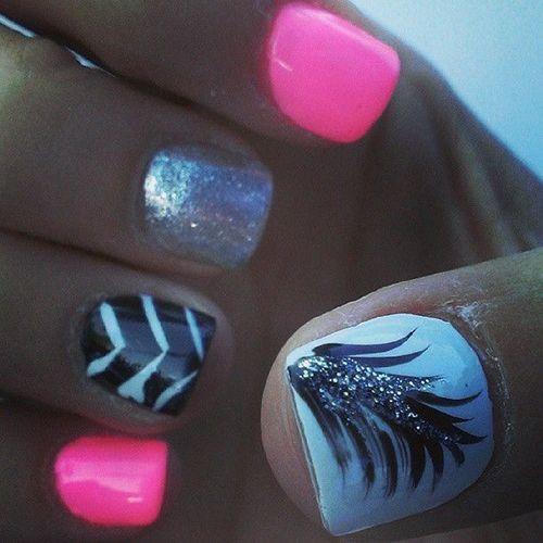 So beautiful nail design,lovely! ,#nail #nails ,click to see More Cute Nail Art Design Ideas