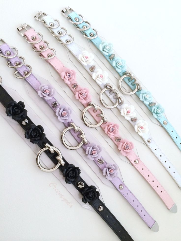 Kelilah Choker- sold out, but will direct you to her store, with tonnes of cute BDSM/pastel goth-inspired stuff ^.^