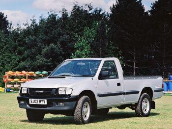 Isuzu TF 4x2 Single Cab UK-spec '10.1992–2002