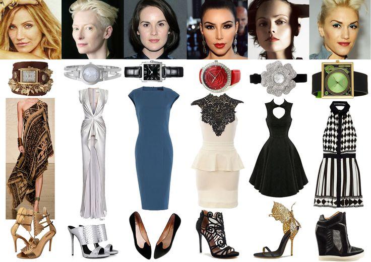 Image & Style Identity Cheat Sheet 002 - Dramatic Dress Styles ...