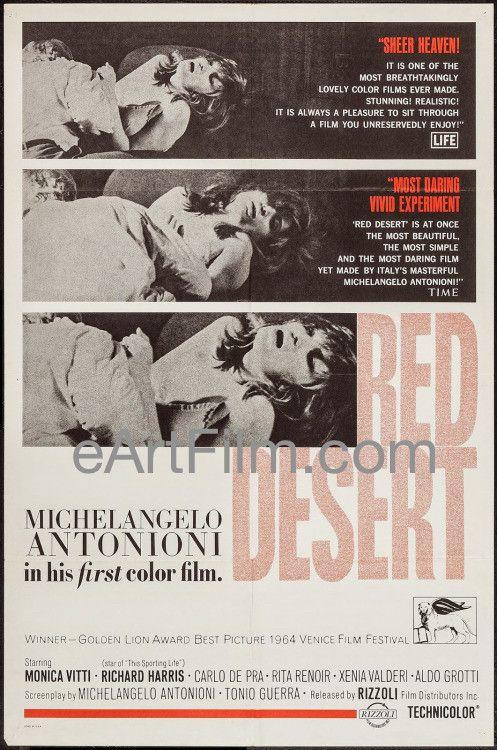 Red Desert-Il Deserto Rosso-1964-27x41-Michelangelo Antonioni-Monica Vitti