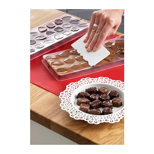VINTERKUL Sada formičiek na čokoládu, 4 ks  - IKEA