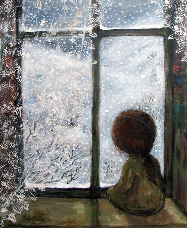 картинки на тему за окном зима столкнулись