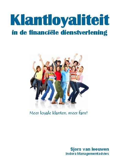Gratis e-book over klantloyaliteit in de financiele dienstverlening.