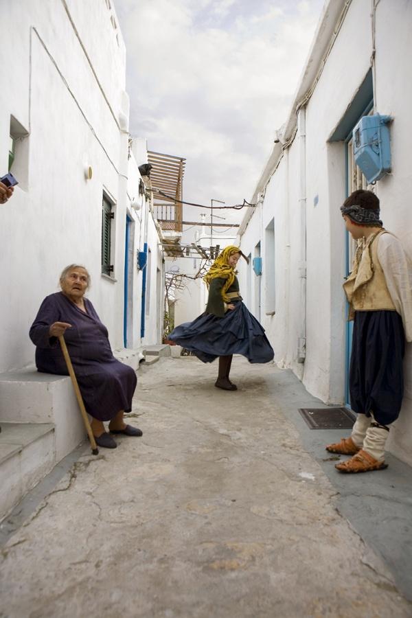 Dionysian goat dance festival of carnival, Island of Skyros, Greece...Evanthia's Island
