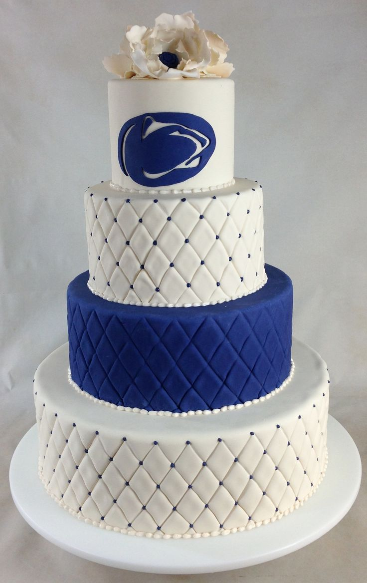 Penn State wedding cake