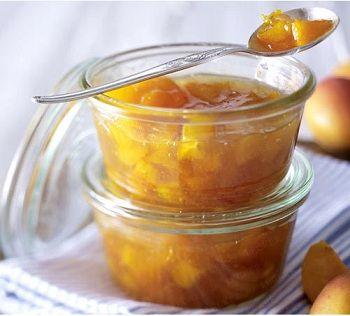 Abrikozenjam met amaretto