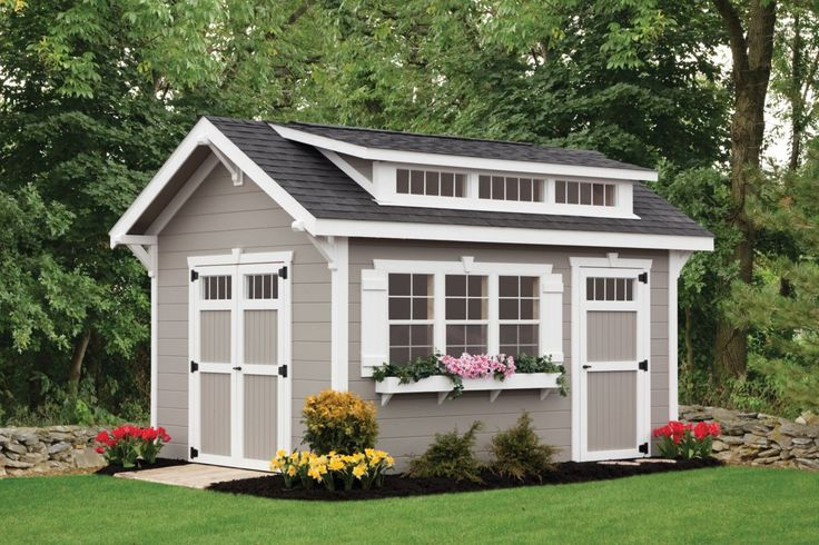 10x12 Tall Sheds Premier Buildings For The Home