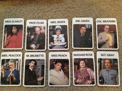 CLUE characters- group Halloween costumes
