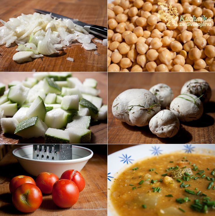 Kuchařka ze Svatojánu: CIZRNOVÁ POLÉVKA SE ZELENINOU