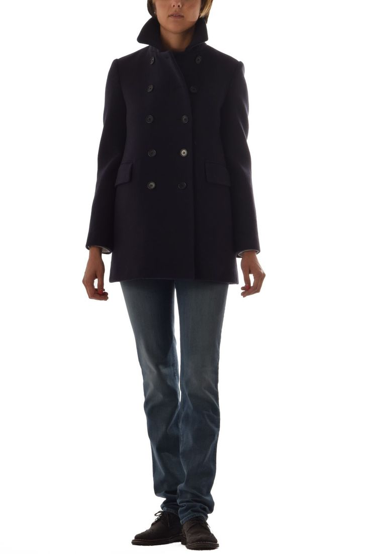 Wool Aspesi Coat with 50% of discount on www.lanamoda.it