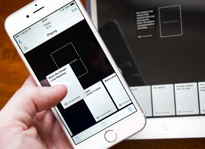 You can now play Cards Against Humanity on your phones, laptops and tablets.