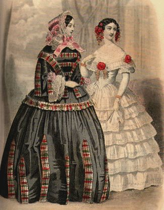 The Changes From The Regency Era Clothing To The Romantic