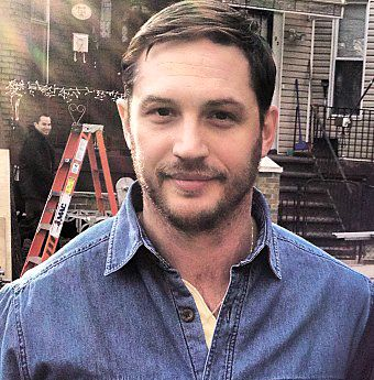Tom Hardy filming in Brooklyn for Animal Rescue..he's just gorgeous! I want this man