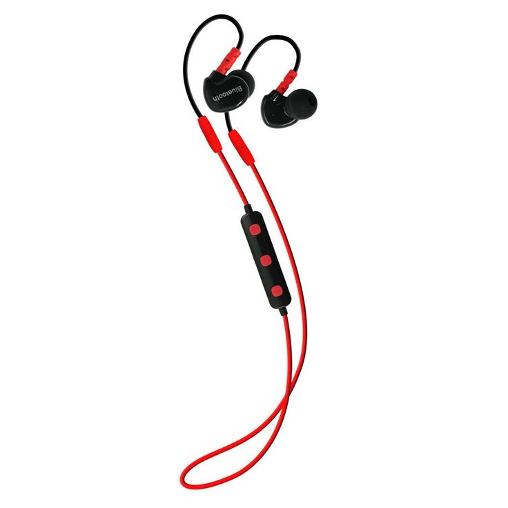 Sport EarHook Bluetooth Earphone Stereo Wireless Bluetooth headphone with Microphone Running Headset Noise Cancelling Earbuds