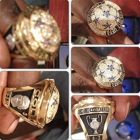 Didier Drogba gives former Chelsea team-mates commemorative Champions League winners rings - Telegraph