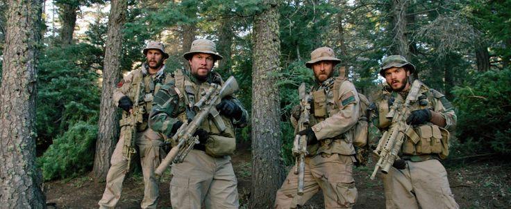 Mark Wahlberg, Ben Foster, Emile Hirsch, and Taylor Kitsch in Lone Survivor (2013)