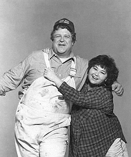 The marriage between Dan and Rosanne Connor. I want this kind of love.