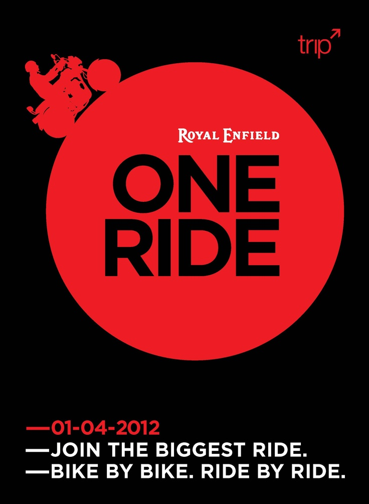 ONE RIDE 2012